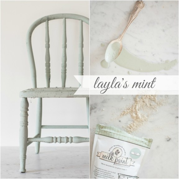 Layla's Mint Collage