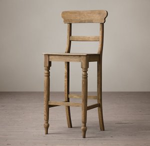 RH Schoolhouse Stool