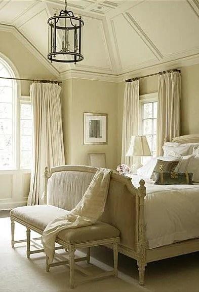 curtain rod across window