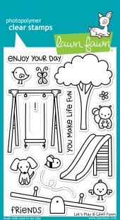 Let's Play Stamps - Miss Tiina for Lawn Fawn