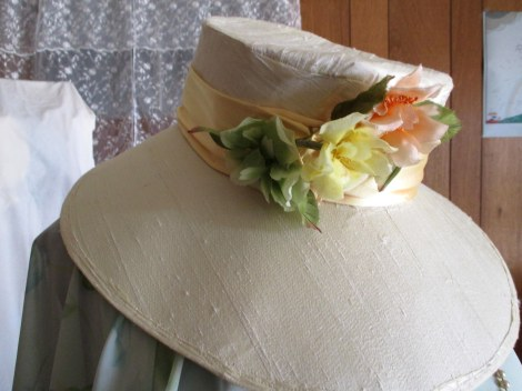 1920s Garden Party Hat