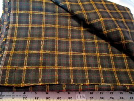 Anna Sui plaid suiting