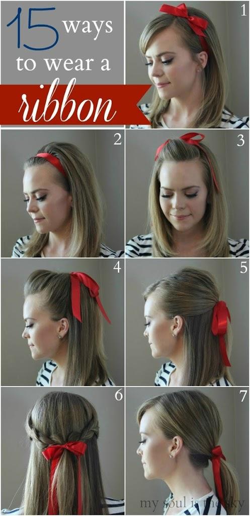 15 Ways To Wear A Ribbon Missy Sue