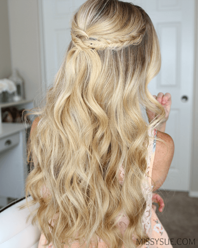 half-up-fishtail-accent-braids-hairstyle