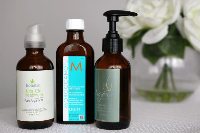 summer-wet-hair-oils
