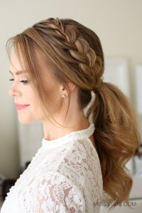 Lace Braid Ponytail | Fsetyt com