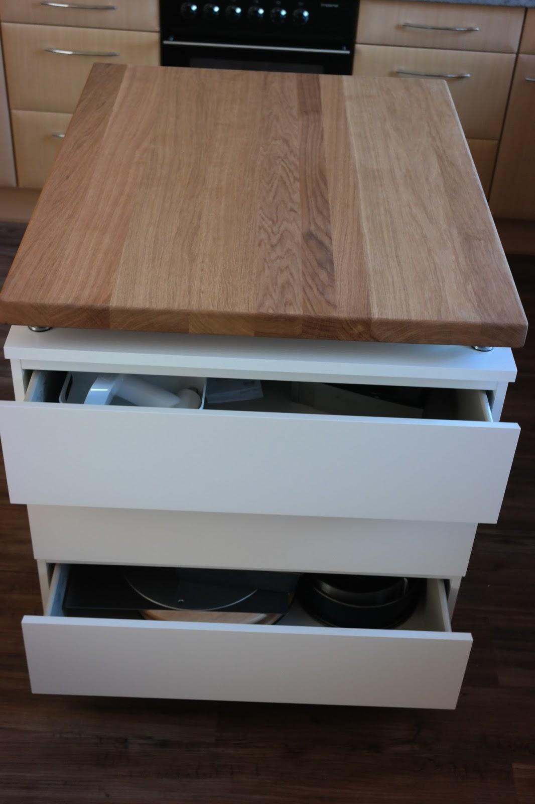Fesselnd Ikea Kücheninsel Diy Miss Zuckerfee