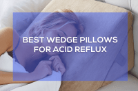 The 5 Best Wedge Pillows for Acid Reflux | MISTERBACK