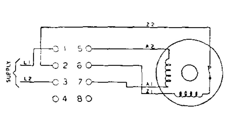 wiring a motor reversing switch