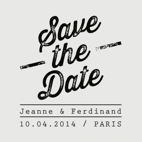ferdinand save the date stamp