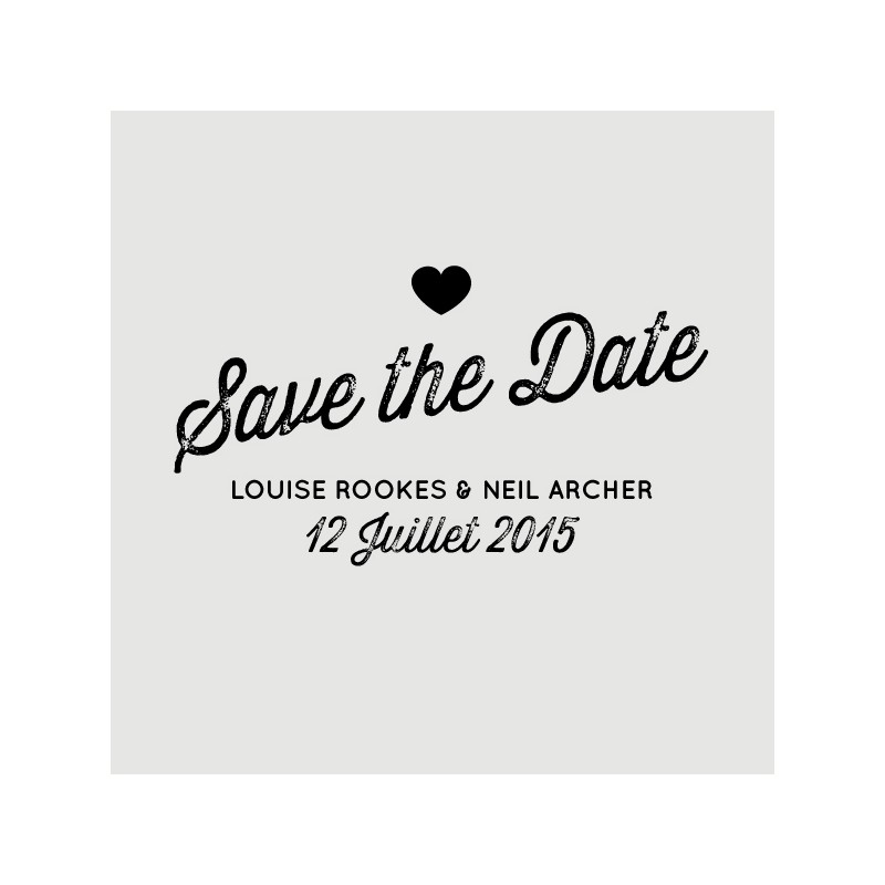 neil save the date stamp