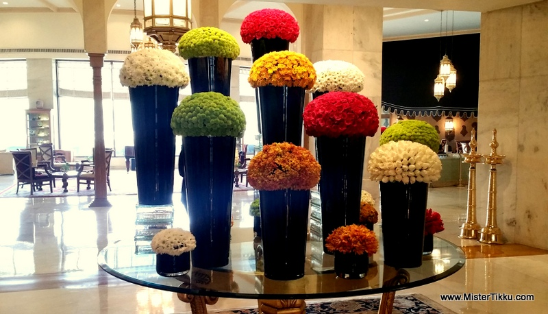 Flower Arrangement Taj palace Hotel