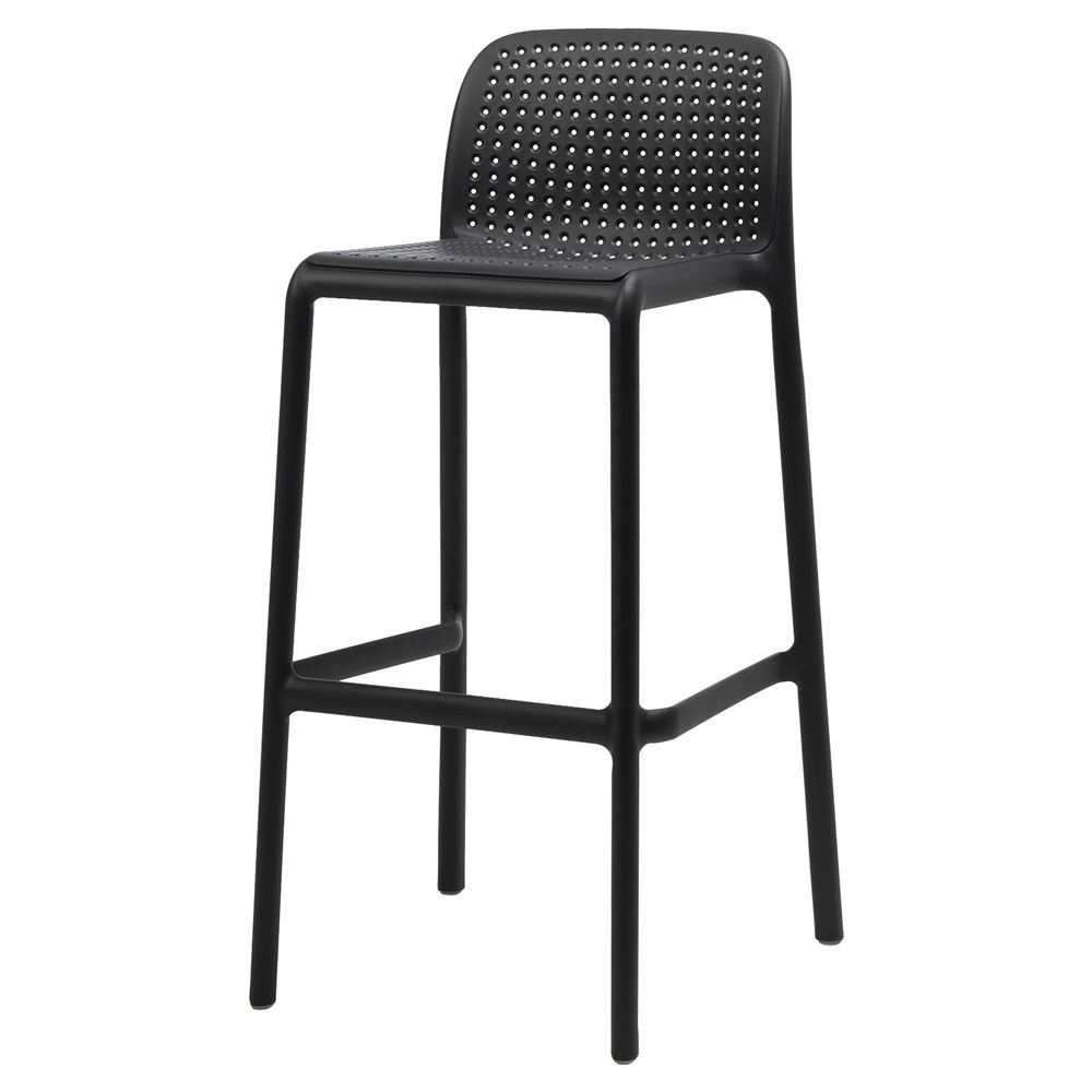 Tabourets De Bar Polypropylene Lidonard Big Black