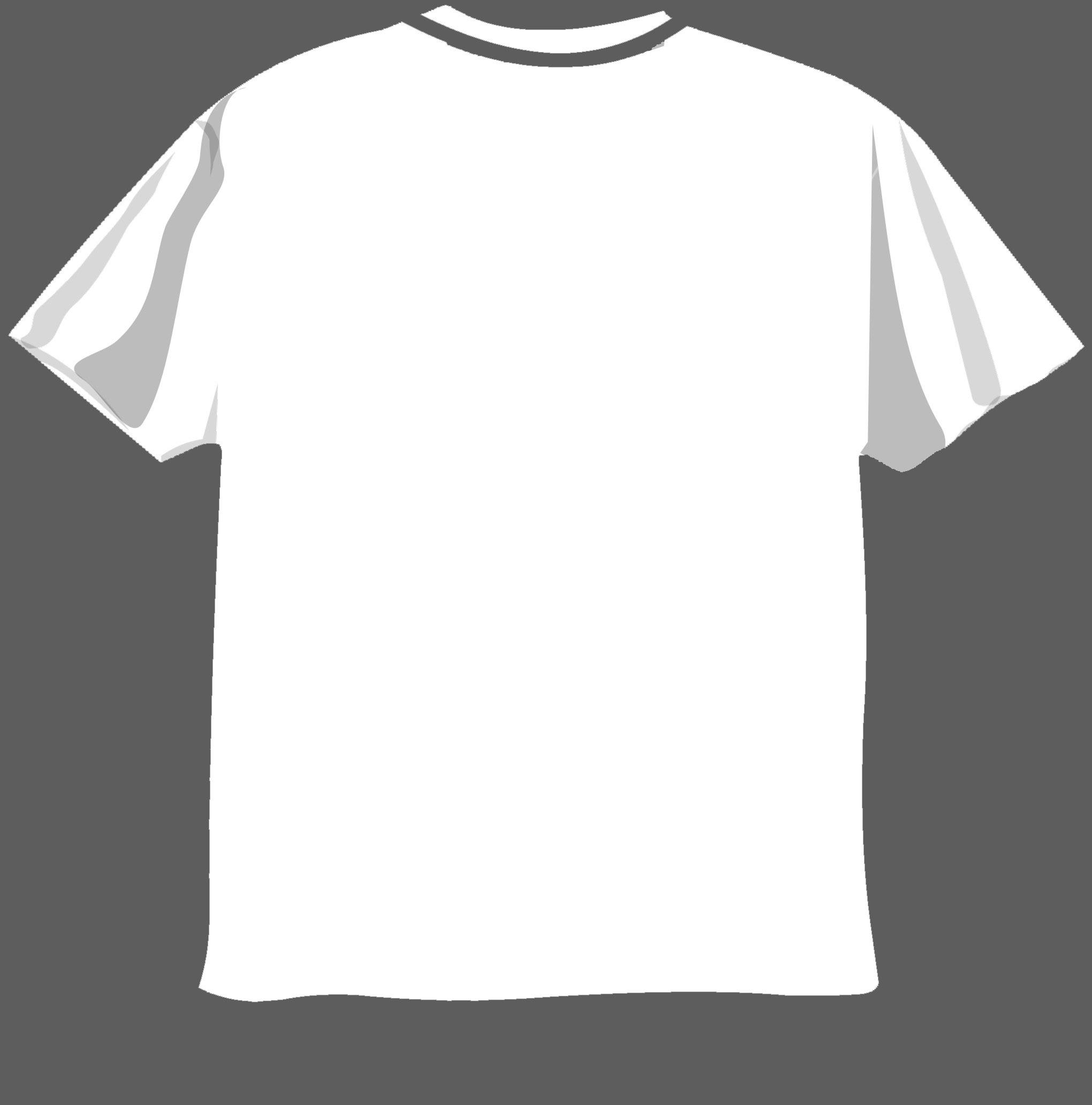 Black T Shirt Design Template Photoshop