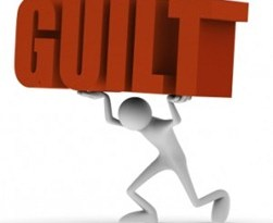 Guilt: an Irrational Choice