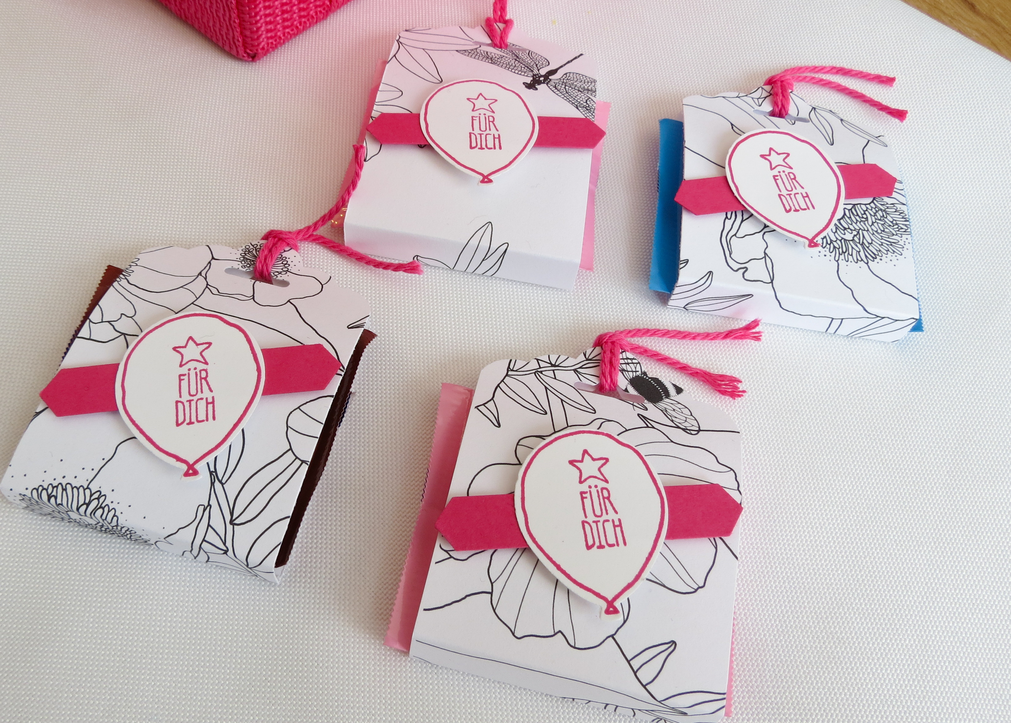 Diy Gastgeschenke Stampin Up Berlin Workshop Diy Gastgeschenke Goodies Rittersport