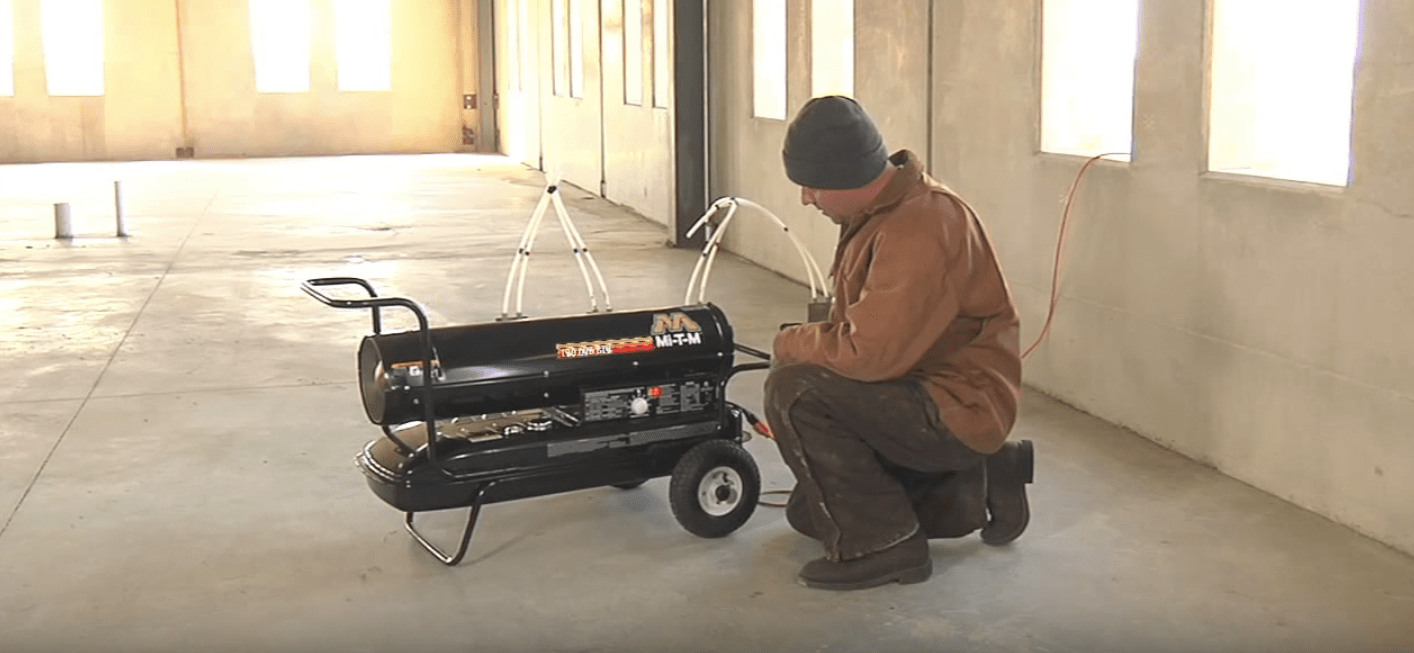 Garage Heater Cost To Run Should You Get A Kerosene Or Propane Portable Heater