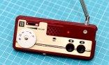 ファミコンのIIコンを携帯型ラジオに改造してみた