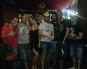 Así están los ocho cierceros que aguantaron hasta el final del torneo. De izquierda a derecha: Rubén, Sergio, Sofía, Álex, Ramsés, Juan, Dani (Fido) y Edu.