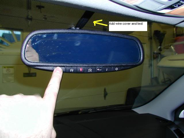 Replace your OE Rearview Mirror - Install pics here - Mitsubishi