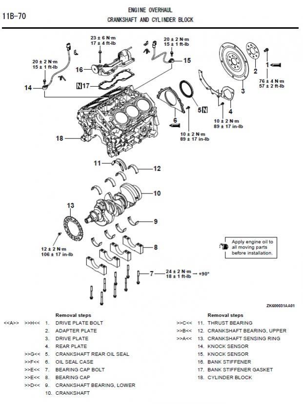 oil leak between engine and transmission - Mitsubishi Forum