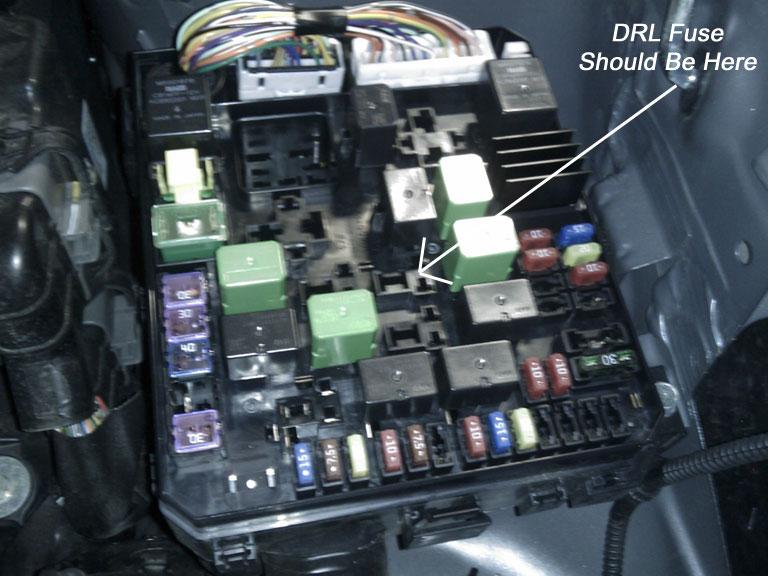Turn DRL on/off with switch? - Mitsubishi Forum - Mitsubishi