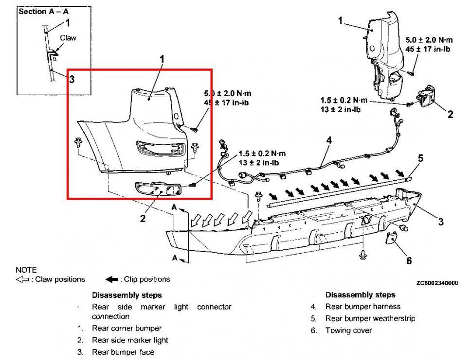 Rear fog lights/lamp - Page 5 - Mitsubishi Forum - Mitsubishi