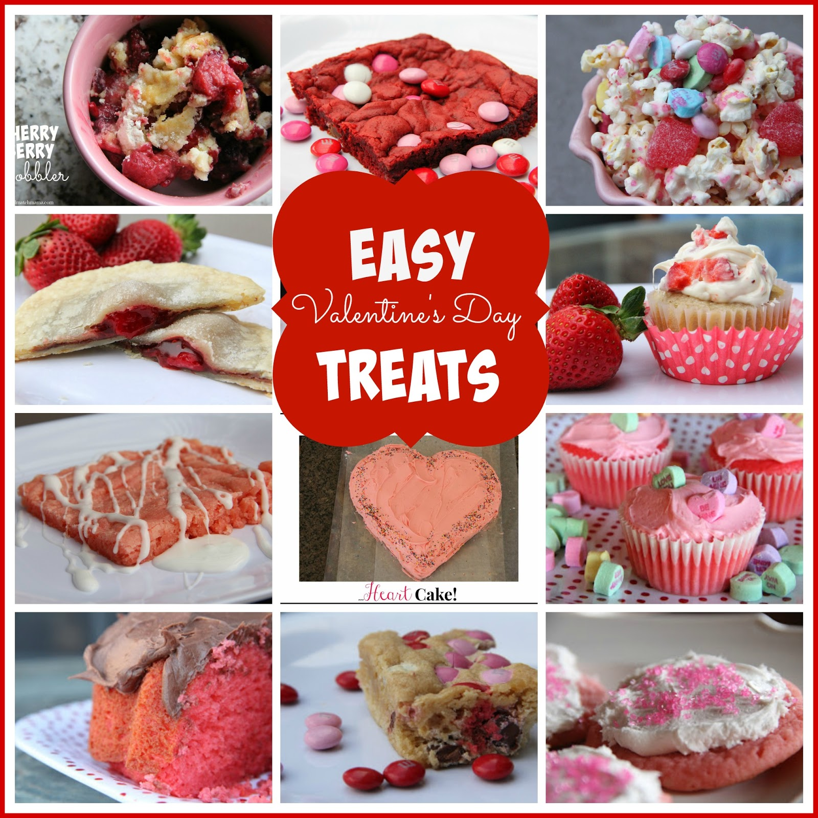 Romantische Hapjes Easy Valentine 39s Day Treats Mix And Match Mama