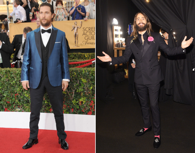 Matthew Mcconaughey e Jared Leto - Sag Awards 2015