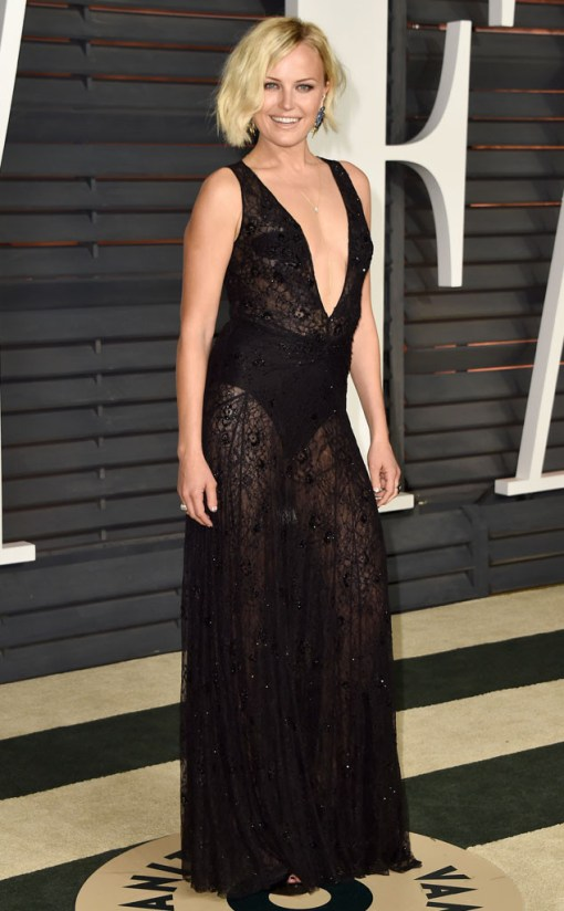 Malin Akerman vestido after party oscar 2015