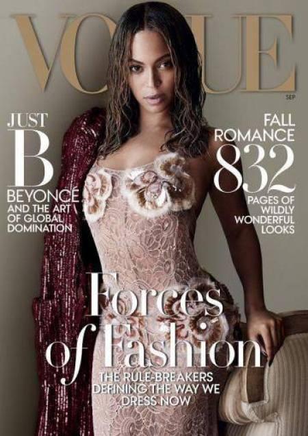 Capa revista Vogue Setembro Beyoncé