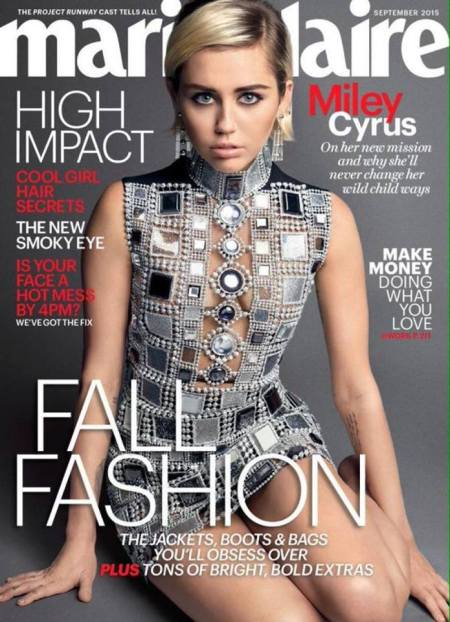 Miley Cyrus Capa Marie Claire