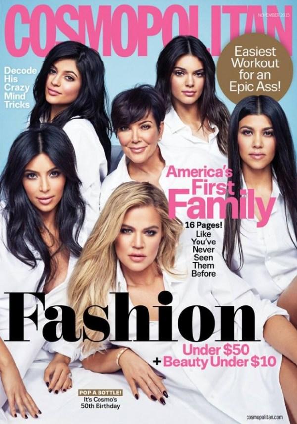 Capa cosmopolitan Kardashians