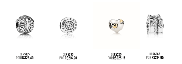 Charms Pandora black friday 2