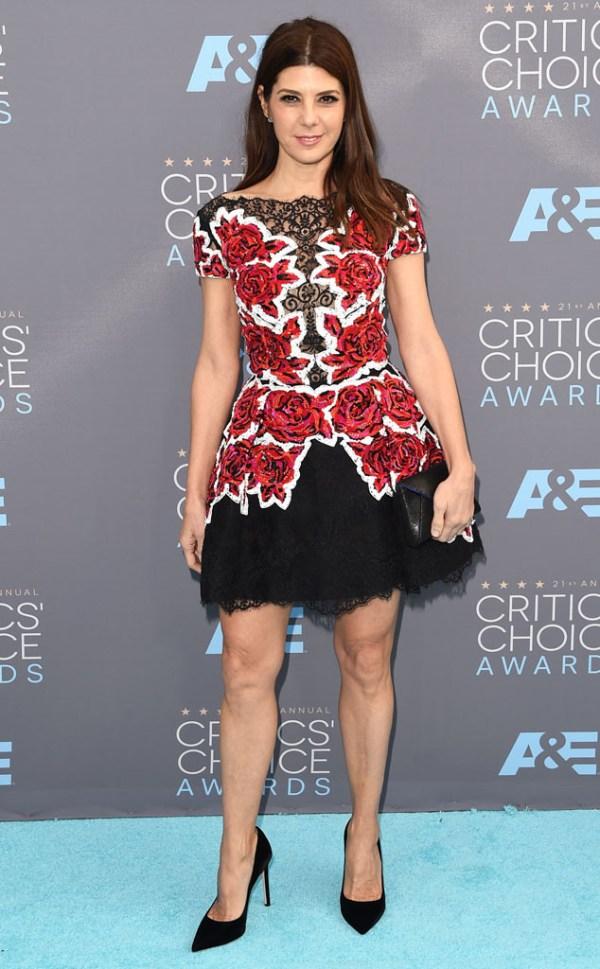 Cricit's Choice Awards 2016 Look marisa tomei