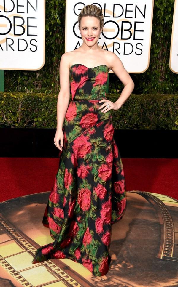 Look golden globe awards Rachel McAdams