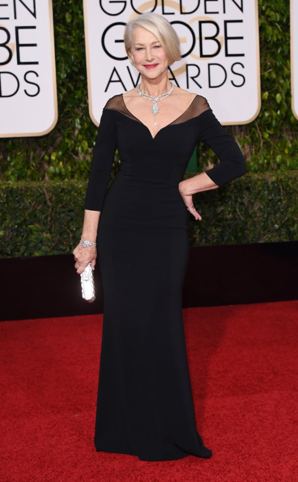 look golden globe awards 2016 helen-mirren