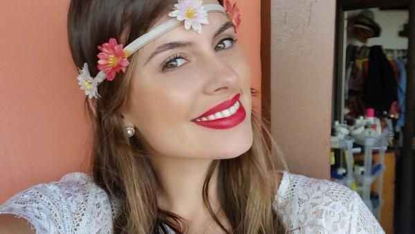Como fazer uma headband de flores para o carnaval