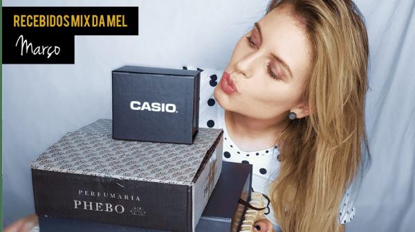 Capa Recebidos Mix da Mel Campo Março