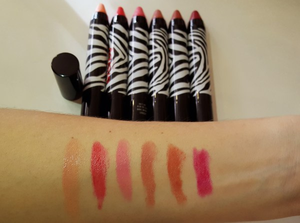 phyto-lip twist sisley paris swatch novas cores