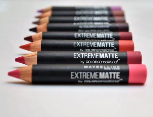 Resenha batons extreme matte maybelline