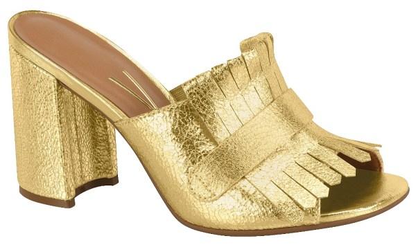 Mule dourado Vizzano 6304-110-5847-37