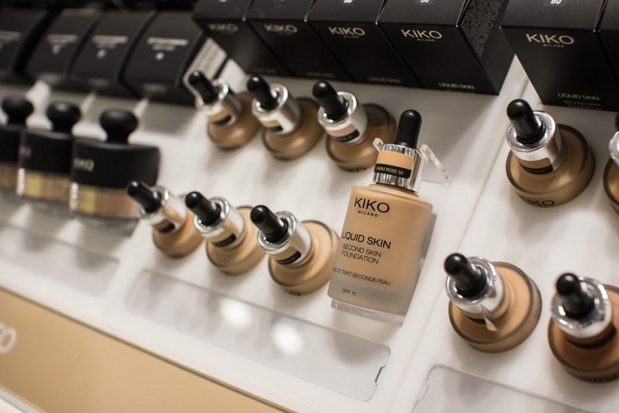 Inauguração Loja KIKO Milano no Brasil produtos