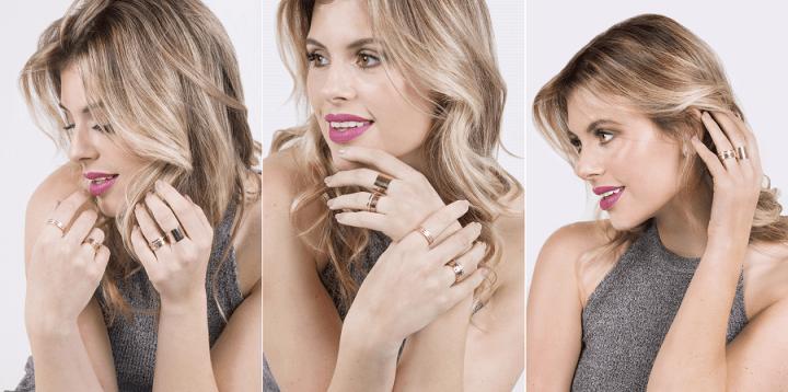 Donna Moça por Mel Campo Moeda Ouro rosé
