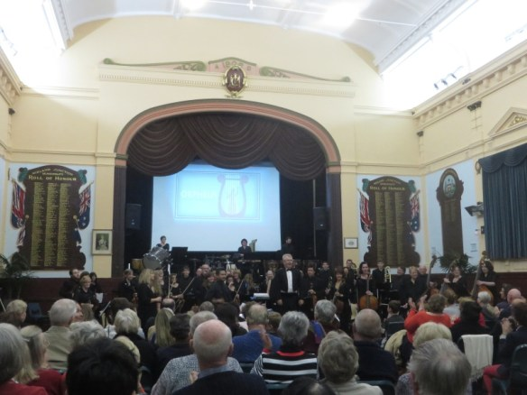 HSO at Midland Town Hall on 20160703