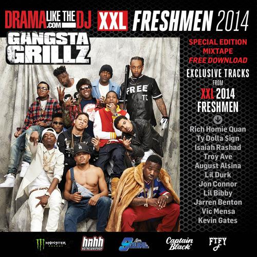 MixtapeMonkey XXL - 2014 XXL Freshman Class Mixtape