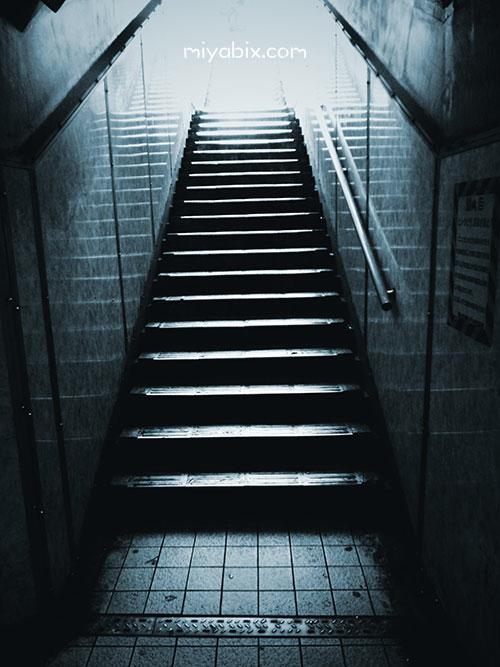 地下道,階段