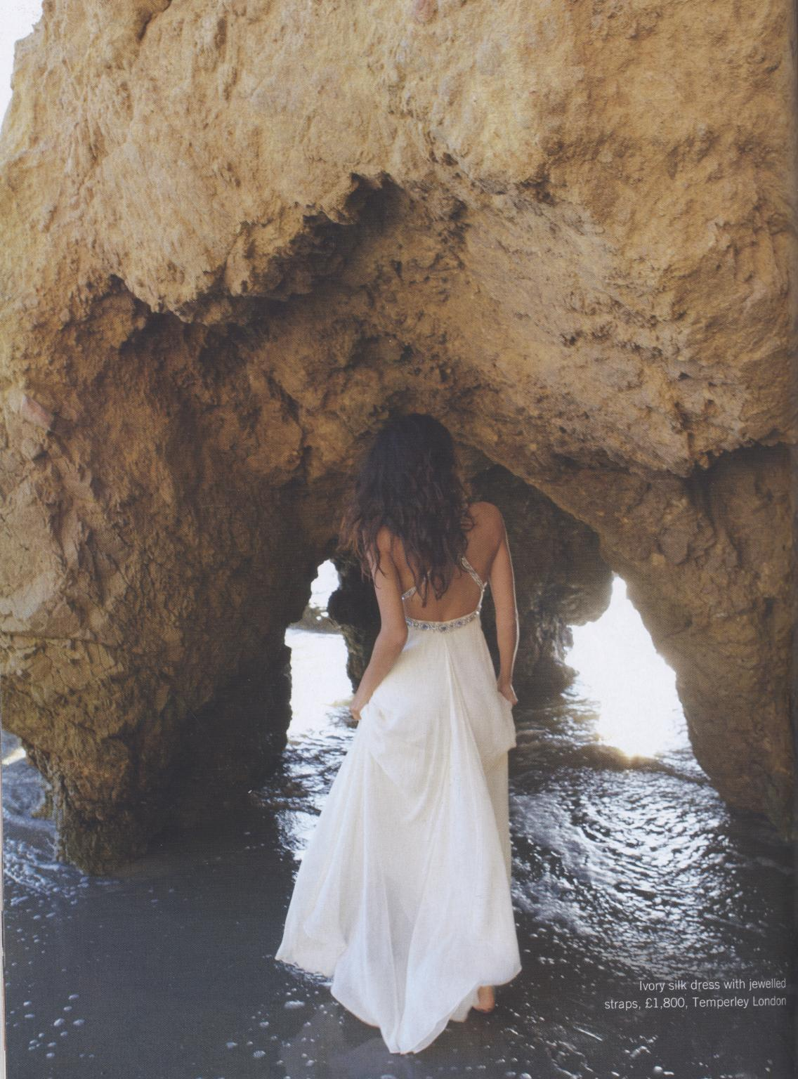 backless wedding dresses backless wedding dresses Silver Sequin backless dress by Clinton Lotter at Blackburn Bridal Couture Ivory