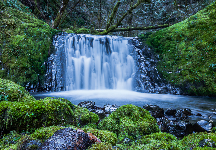 Multnomah Falls Oregon Winter Wallpaper Off Trail In The Columbia River Gorge Mjf Images