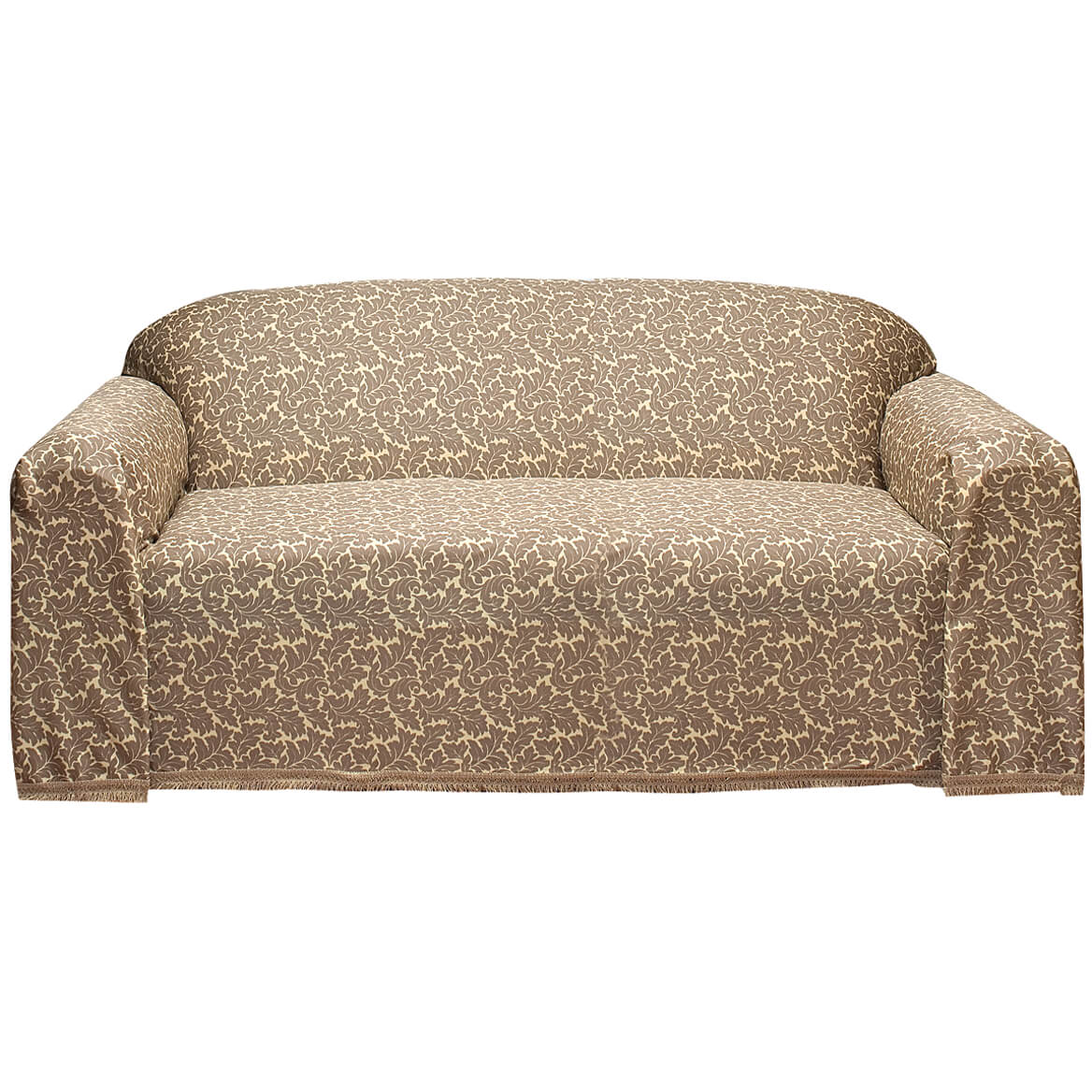 Grey Sofa Slipcover Damask Ii Sofa Slipcover